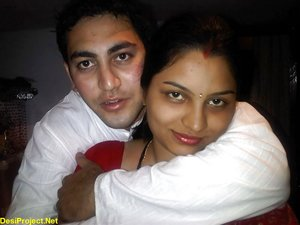 Beautiful Young Indian Newly Married Couple Honeymoon
