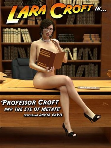 Lara Croft in Professor Croft