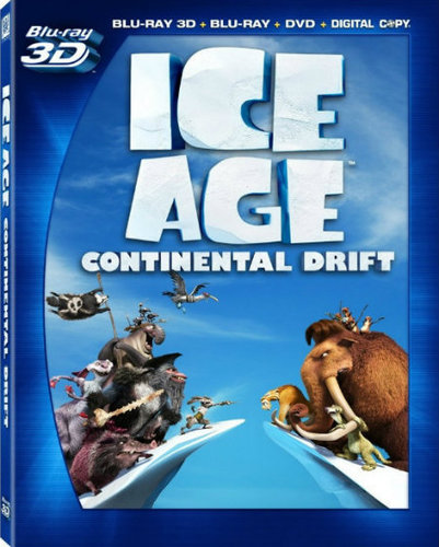 Ice Age 4 Continental Drift 2012 BRRip 720p Daul Audio 700mb