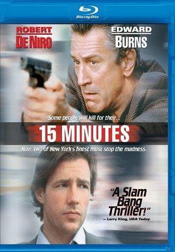 15 Minutes (2001) BRRip Dual Audio Hindi Dubbed 350MB