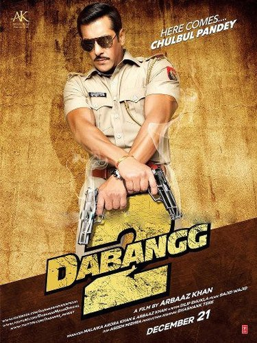 Dabangg 2  2012 DVDRip 350Mb Download Watch