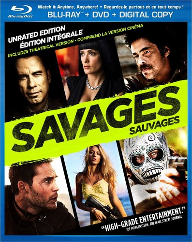 Savages (2012) Dual Audio Hindi Dubbbed UNRATED BRRip 720p